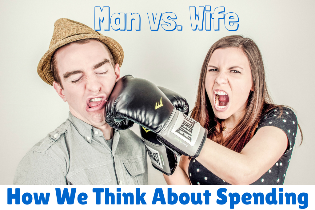 Man vs. Wife How We Think About Spending
