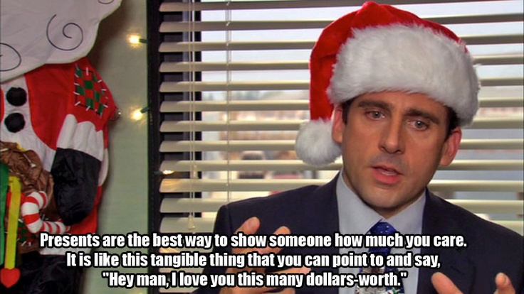 Christmas Gifts - The Office
