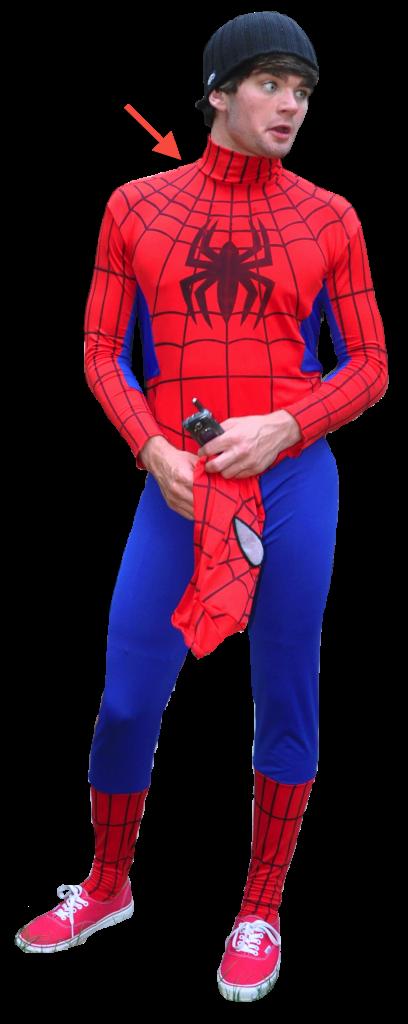 True Tightwad Spiderman Responsibility