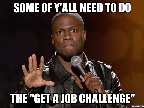 Get a Job - Student Loan Challenge