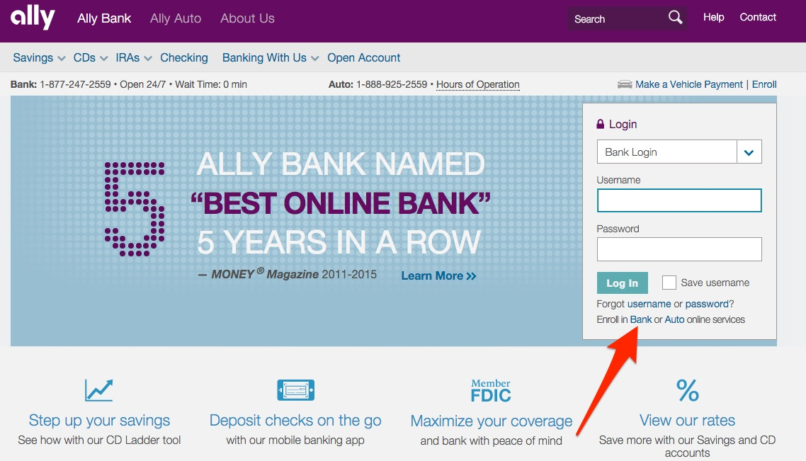 Ally Online Savings Step 12