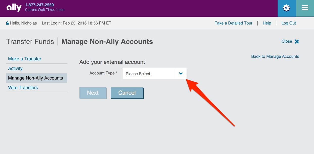 Ally Online Savings Step 25