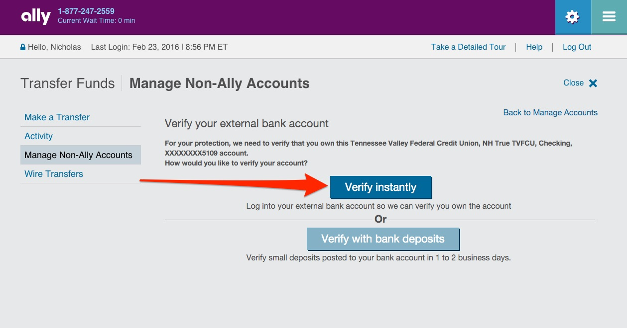 Ally Online Savings Step 27