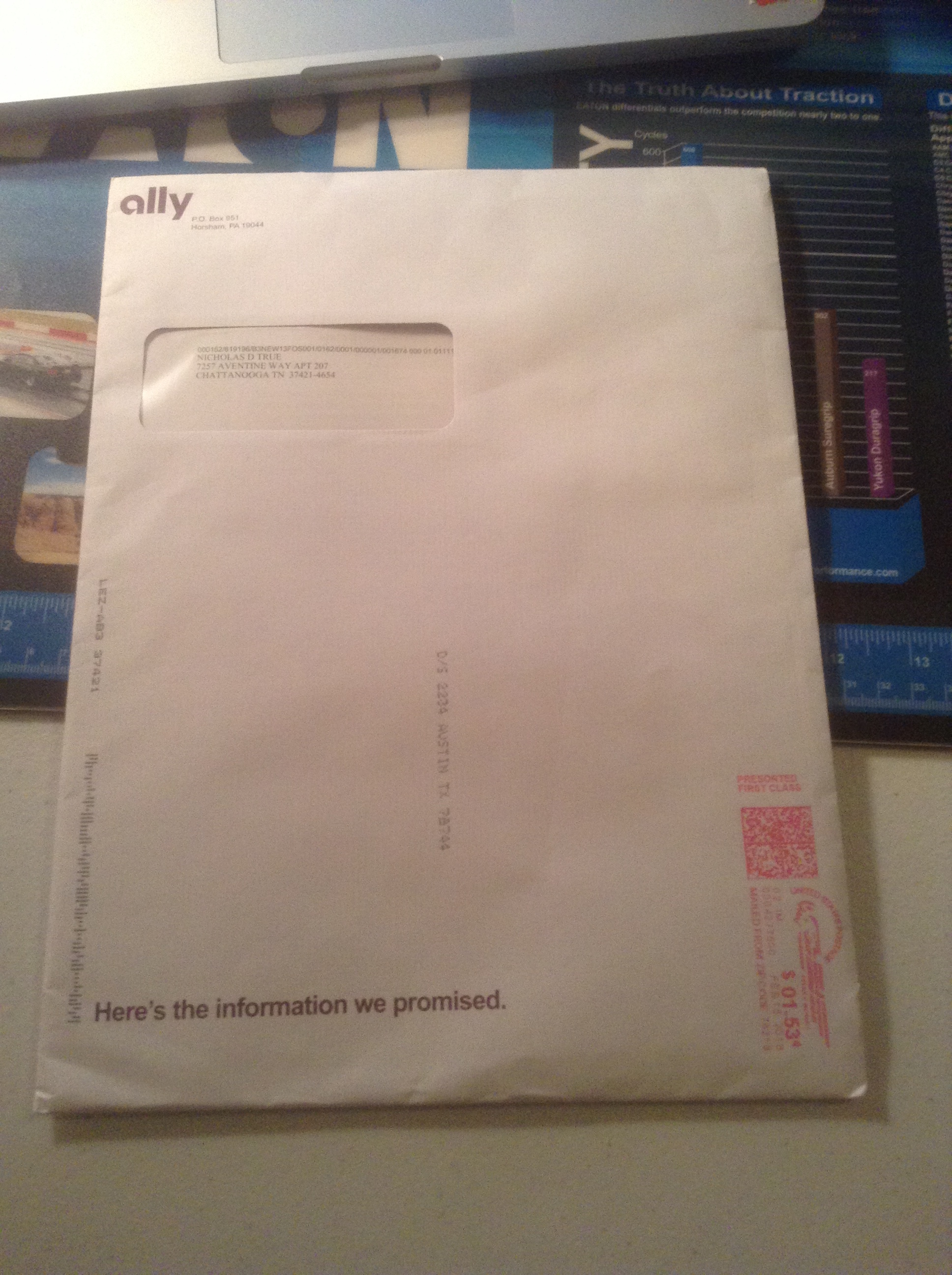 Ally Savings Account Mail