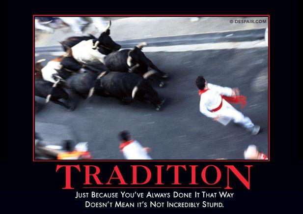 traditiondemotivator Millennials