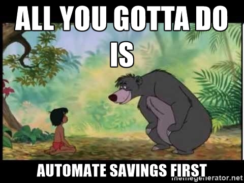Baloo Automate Money Savings