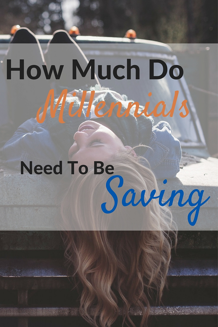 How Much Do Millennials Need To Be Saving