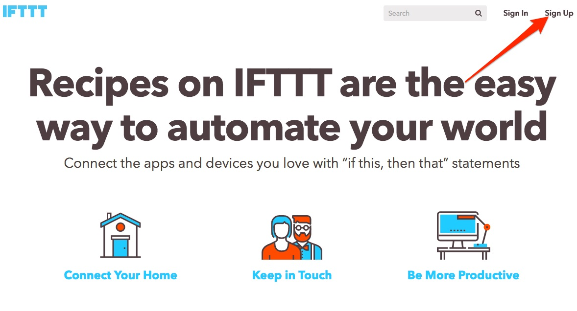 IFTTT Choose Financial Freedom Hack pic01