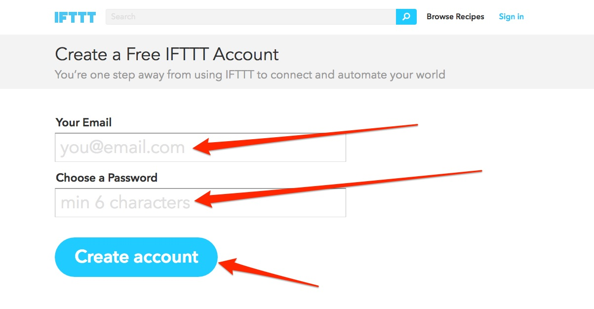 IFTTT Choose Financial Freedom Hack pic02