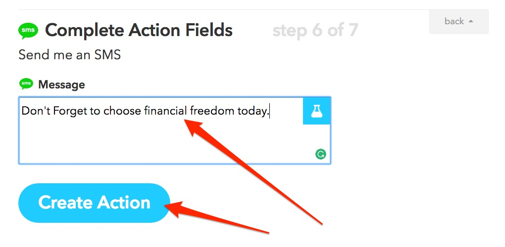 IFTTT Choose Financial Freedom Hack pic11