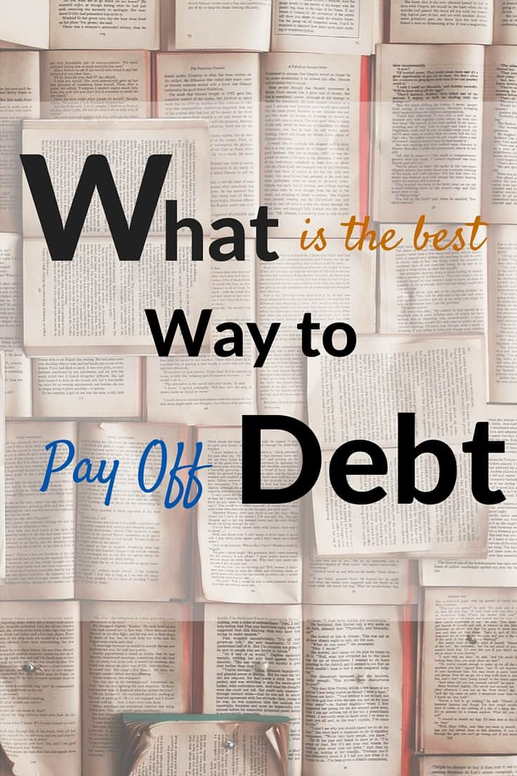 best way to get out of debt without a loan