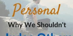 Personal Finance Is Personal: Why We Shouldn't Judge Others