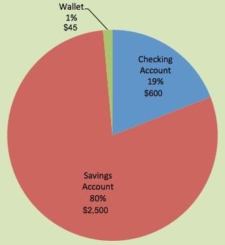 Cash Pie Chart